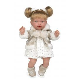 Кукла смеющаяся блондинка...