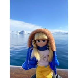 Snow day doll