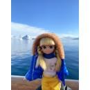 Кукла снежного дня
