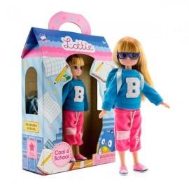 Прикольная для школьной куклы
